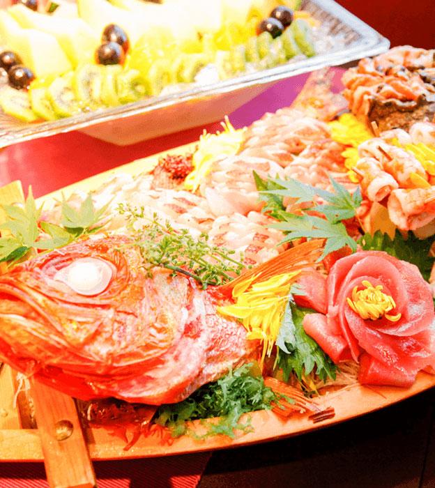 グレードアッププラン 寿司