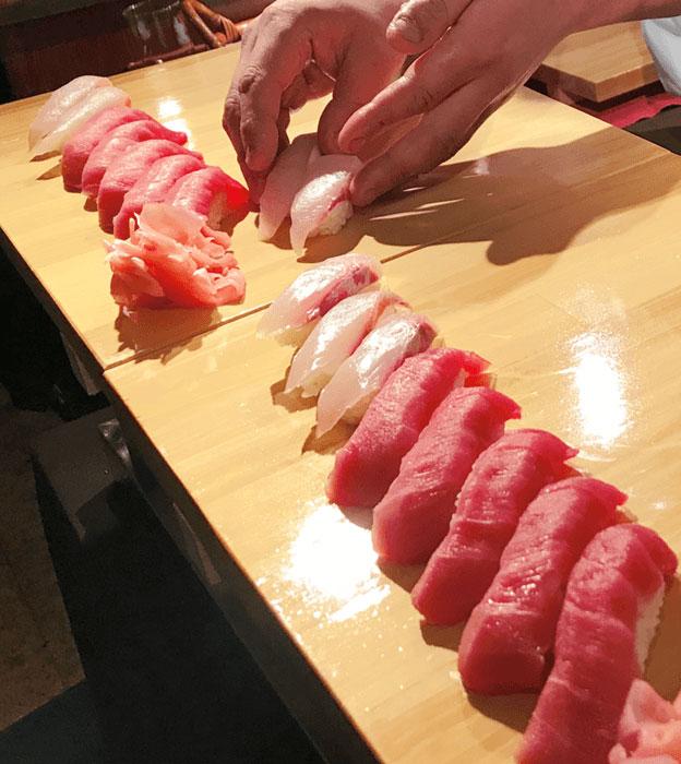 スタンダードプラン 寿司